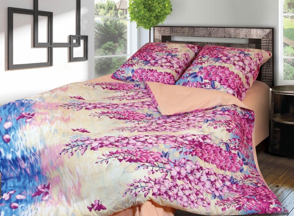 Постельное белье Грация 4157-2 Комплект 1.5 спальный Фланель 2302786