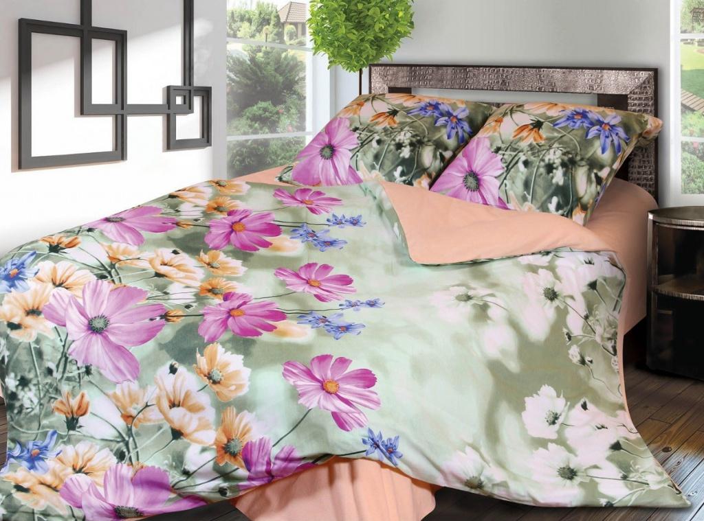 Постельное белье Грация 4169-1 Комплект 1.5 спальный Фланель 2302774