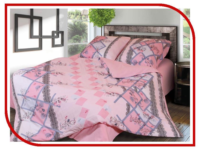 Постельное белье Грация 3868-1 Комплект 2 спальный Фланель 2302827 постельное белье эго комплект 1 5 спальный полисатин