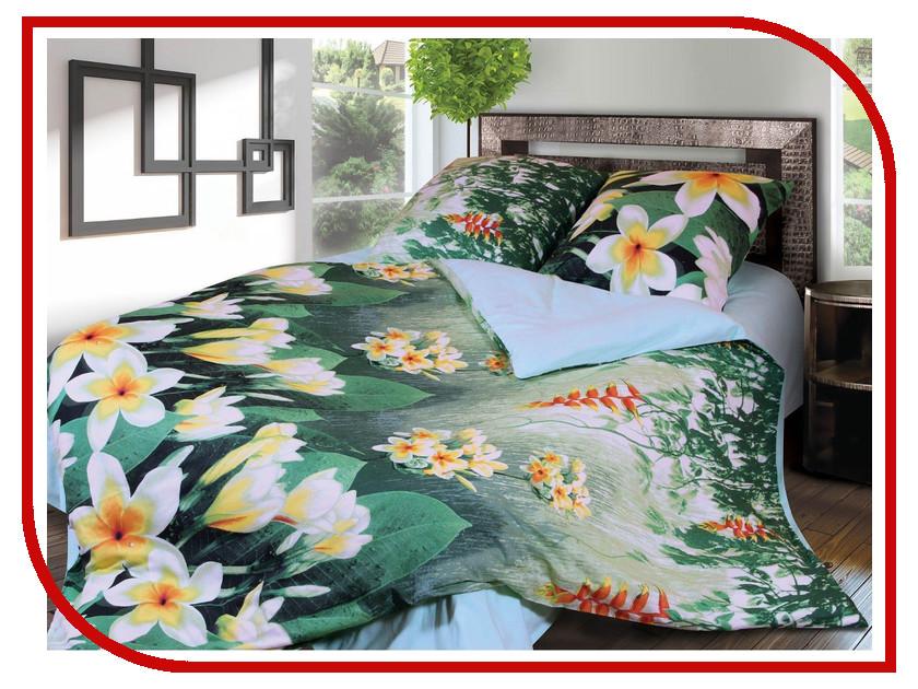 Постельное белье Грация 3959-1 Комплект 2 спальный Фланель 2302800 постельное белье эго комплект 1 5 спальный полисатин