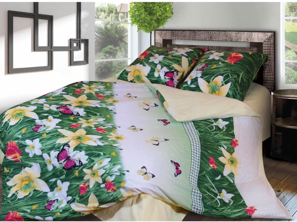 Постельное белье Грация 4677-1 Комплект 2 спальный Фланель 2302818