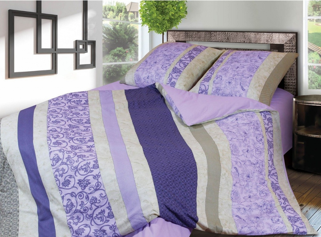Постельное белье Грация 5119-5 Комплект 2 спальный Фланель 2302808 постельное белье грация фиалки 5178 комплект 2 спальный бязь 1920332