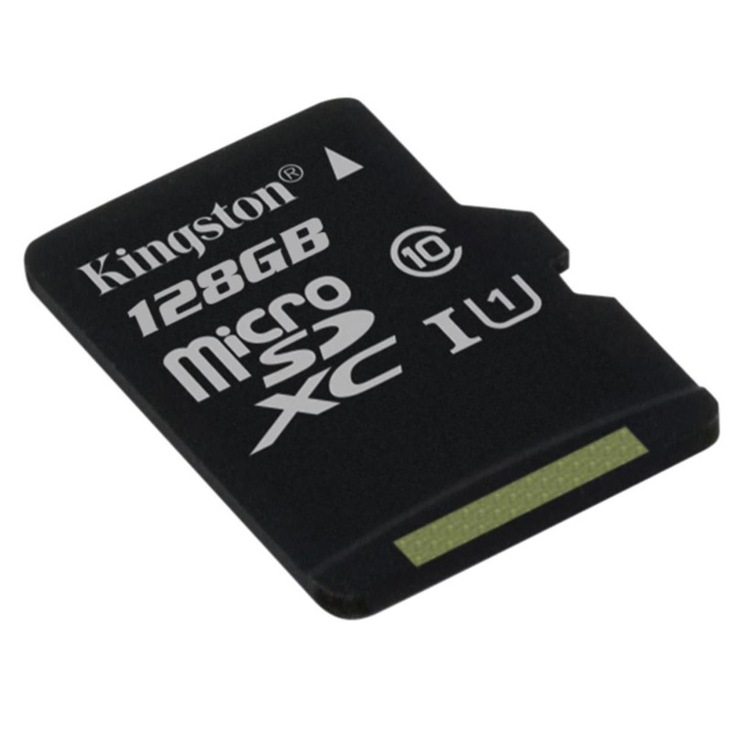 Карта памяти 128Gb - Kingston MicroSDXC Class 10 UHS-I U1 Canvas Select SDCS/128GBSP