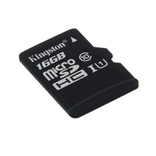 Карта памяти 16Gb - Kingston MicroSDHC Class 10 UHS-I U1 Canvas Select SDCS/16GBSP microsdhc kingston 16gb class 4 sdc4 16gbsp