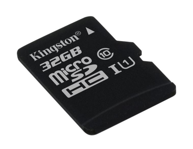Карта памяти 32Gb - Kingston MicroSDHC Class 10 UHS-I U1 Canvas Select SDCS/32GBSP