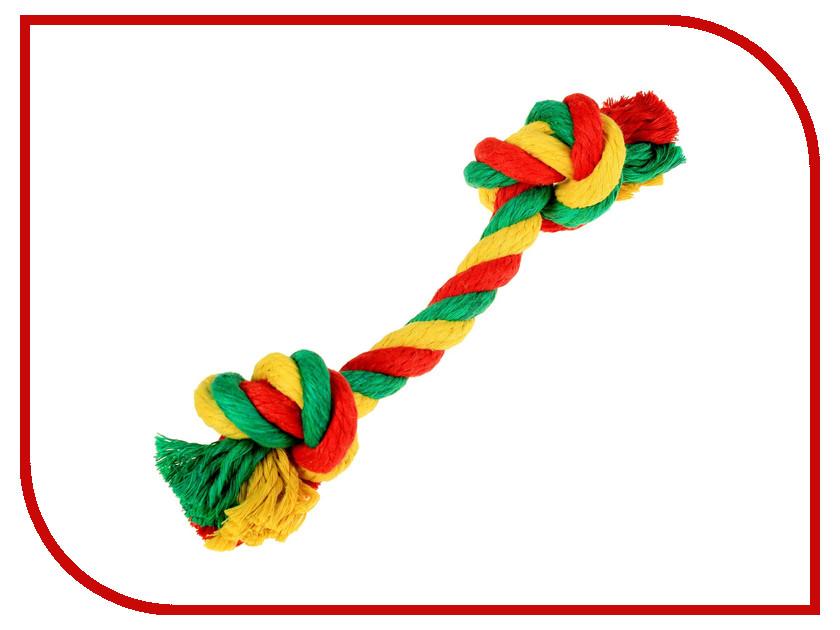 Канатный грейфер Doglike 2 узла большой Yellow-Green-Red