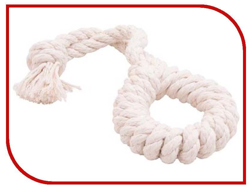 Кольцо канатное Doglike Большое White