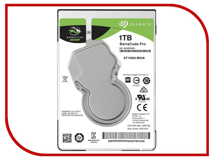 Жесткий диск 1Tb - Seagate BarraCuda Pro ST1000LM049