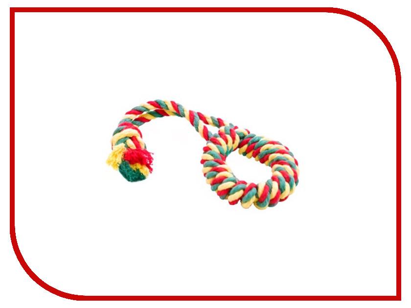 Кольцо канатное Doglike Малое Yellow-Green-Red