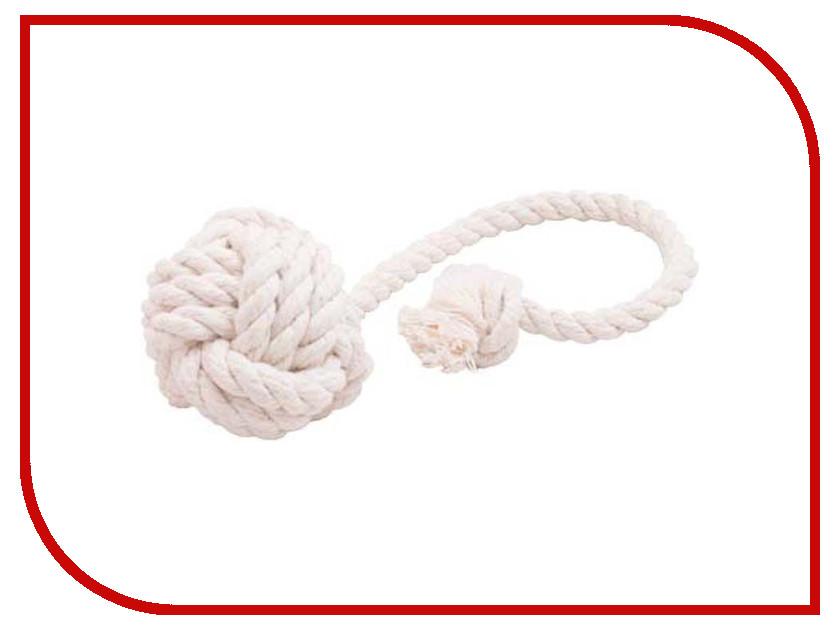 Мяч канатный Doglike Средний White