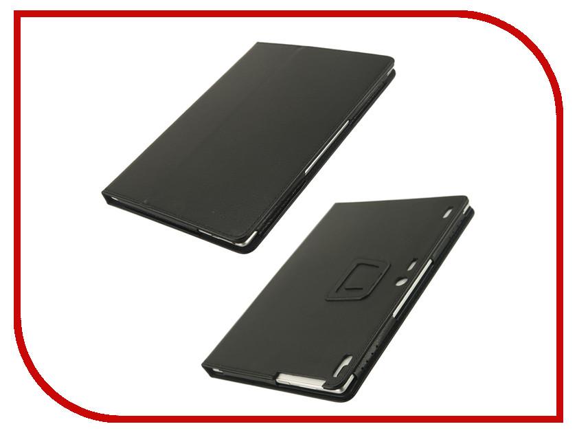 Аксессуар Чехол Lenovo Tab 4 10.0 TB-X704L Plus IT Baggage Black ITLNT4107-1 чехол для asus zenpad z580c z580ca it baggage эко кожа черный