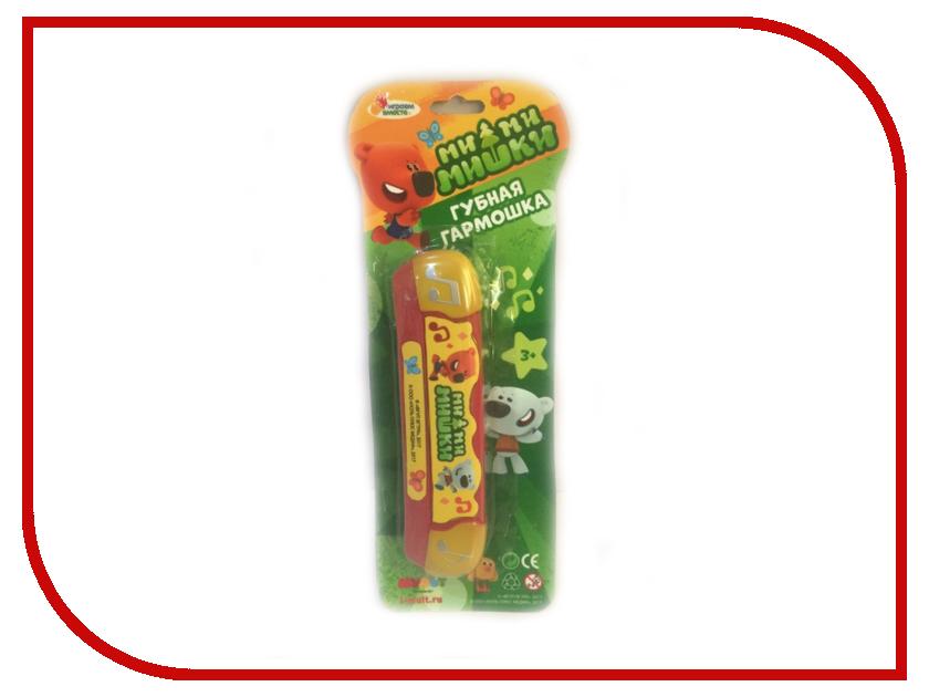 Детский музыкальный инструмент Играем вместе Губная гармошка Ми-Ми-Мишки B323587-R5