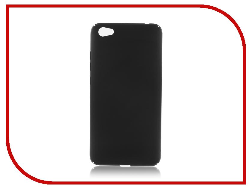 Аксессуар Чехол Xiaomi Redmi Note 5A 2G+16G BROSCO Black XM-RN5A-4SIDE-ST-BLACK аксессуар чехол xiaomi mi6 brosco silicone black xm mi6 tpu black