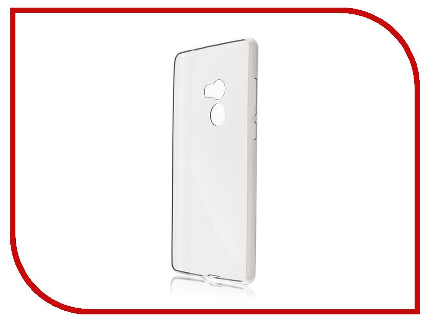 Аксессуар Чехол Xiaomi Mi Mix 2 BROSCO Silicone Transparent XM-MIMIX2-TPU-TRANSPARENT аксессуар чехол xiaomi redmi note 4 brosco transparent xm rn4 tpu transparent