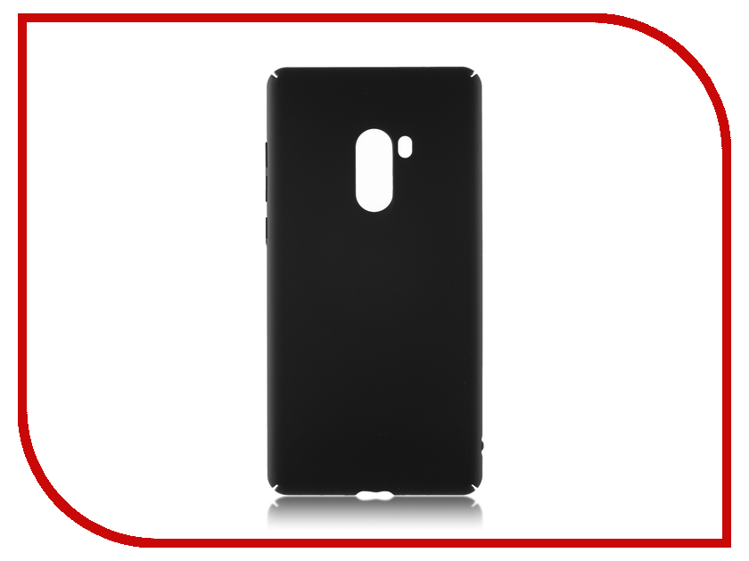 Аксессуар Чехол для Xiaomi Mi Mix 2 Brosco Black XM-MiMIX2-4SIDE-ST-BLACK аксессуар чехол skatebox для самоката xiaomi black st17 black black