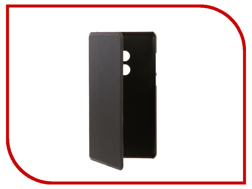 Аксессуар Чехол Xiaomi Mi Mix 2 BROSCO Black XM-MIMIX2-BOOK-BLACK аксессуар чехол htc u ultra brosco black htc uu book black