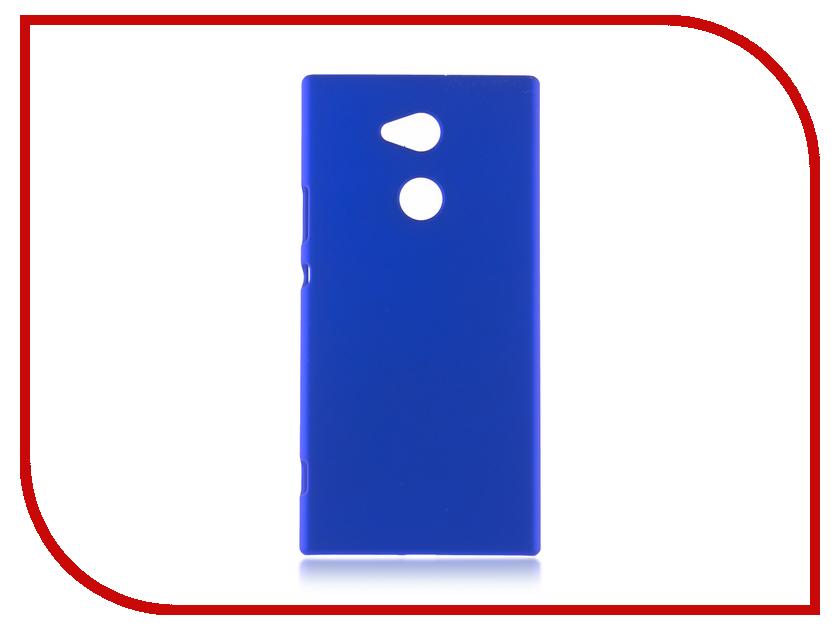 Аксессуар Чехол Sony Xperia XA2 Ultra BROSCO Dark Blue XA2U-SOFTTOUCH-DARKBLUE