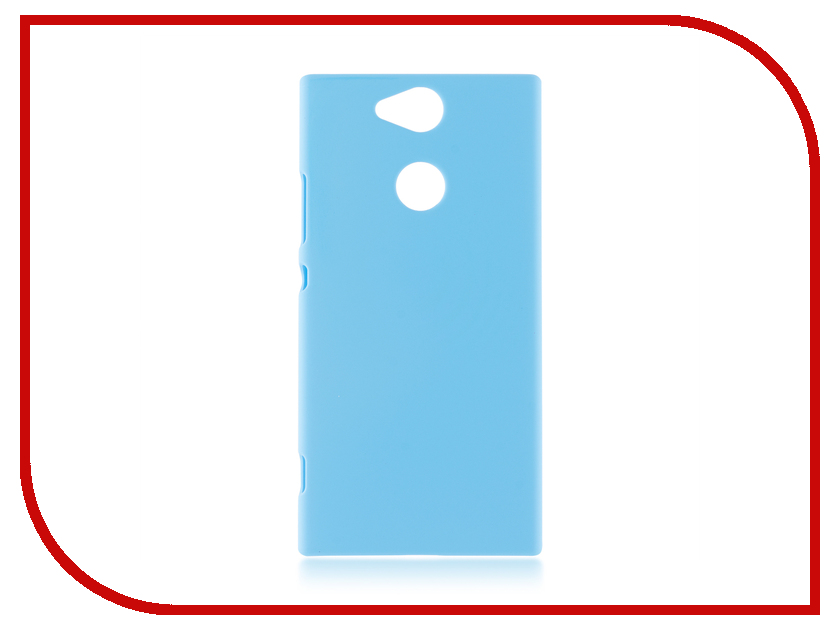 Аксессуар Чехол для Sony Xperia XA2 BROSCO Light Blue XA2-SOFTTOUCH-BLUE 3 lens 36 patterns rg blue mini led stage laser lighting professinal dj light red gree blue