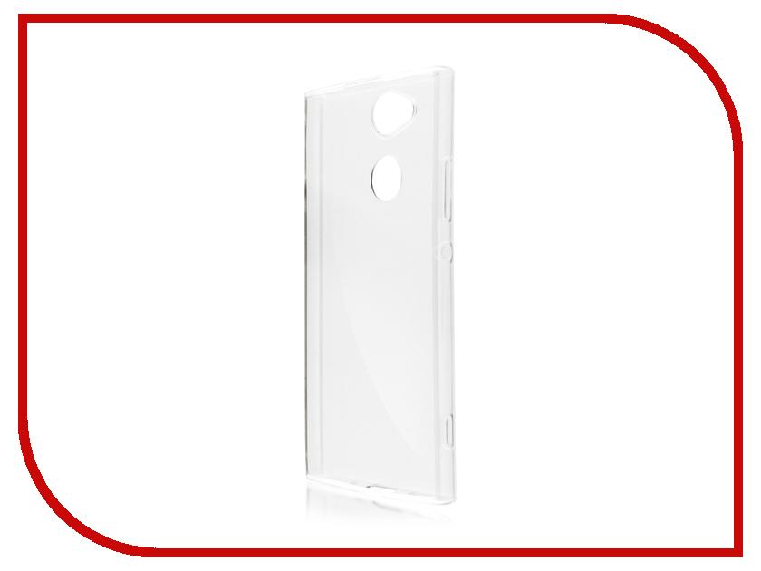 Аксессуар Чехол Sony Xperia XA2 BROSCO Silicone Transparent XA2-TPU-TRANSPARENT аксессуар чехол sony xperia xa1 ultra brosco silicone transparent xa1u hard tpu transparent