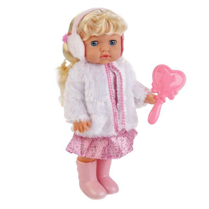 Кукла Карапуз POLI-25-A-RU кукла карапуз poli 03 b ru