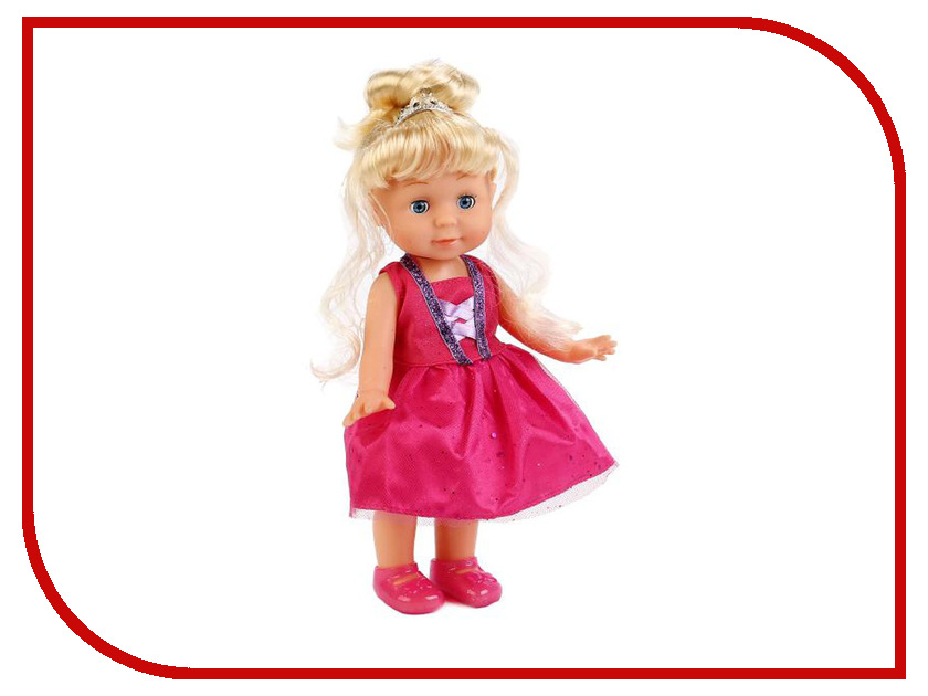 Кукла Карапуз Балерина POLI-03-E-RU карапуз кукла рапунцель со светящимся амулетом 37 см со звуком принцессы дисней карапуз