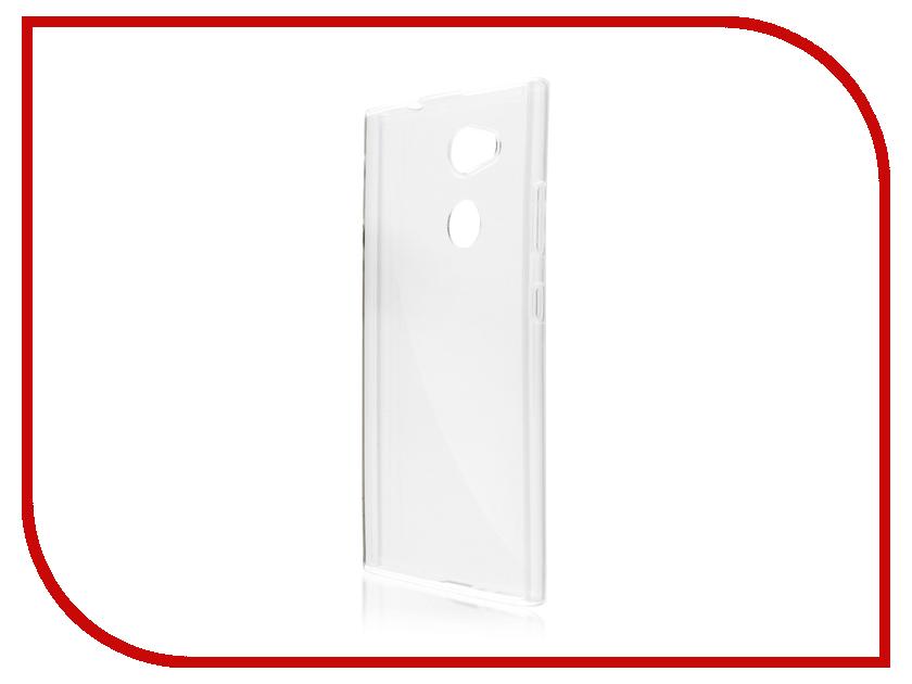Аксессуар Чехол Sony Xperia L2 BROSCO Silicone Transparent L2-TPU-TRANSPARENT аксессуар чехол sony xperia xa1 ultra brosco silicone transparent xa1u hard tpu transparent
