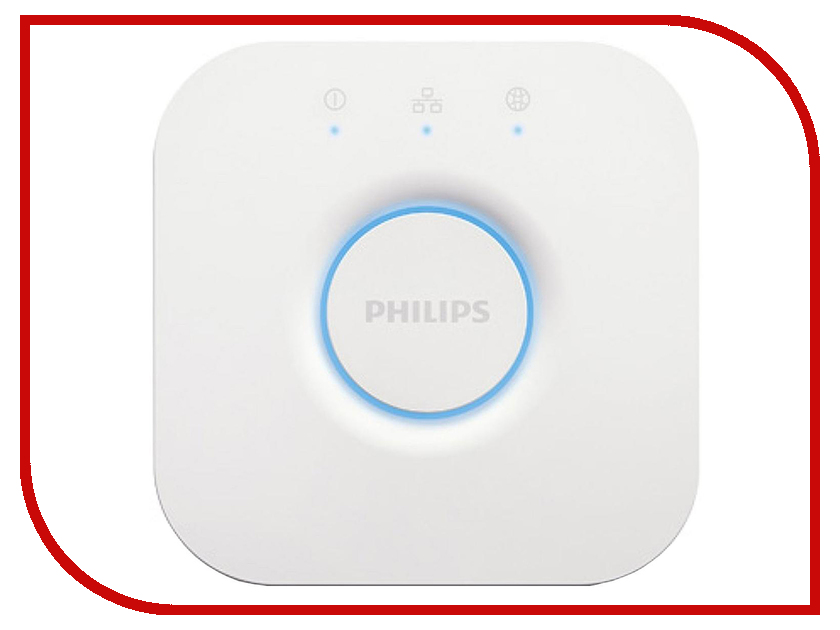 Контроллер Philips Hue Bridge 2nd Gen White светодиодная лента philips hue lightstrips plus 1m