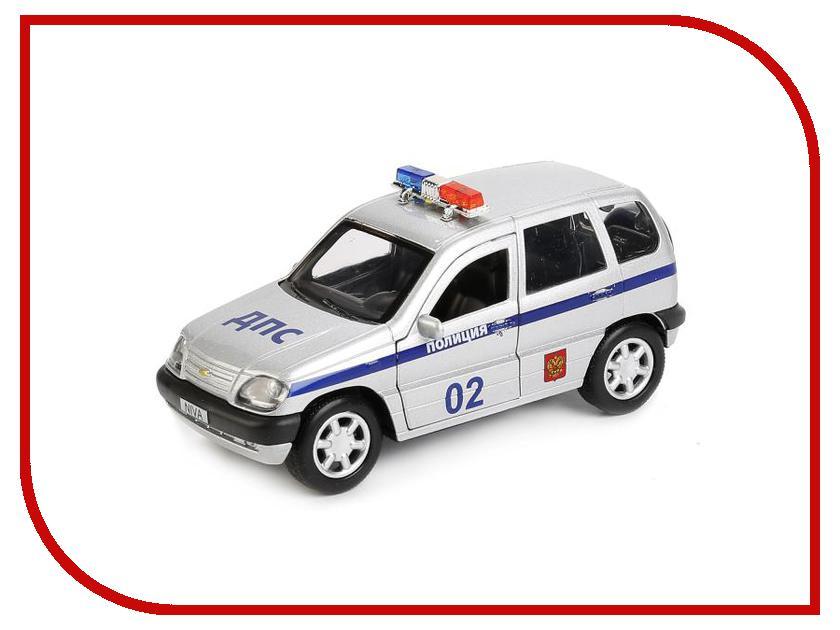 Машина Технопарк Chevrolet Niva CHEVY-NIVA-POLICE чехол на сиденье skyway chevrolet niva ch1 2