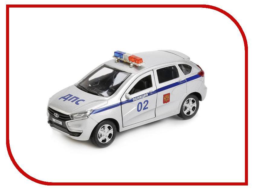 Игрушка Технопарк LADA XRAY XRAY-POLICE игрушка технопарк lada в спорт окраске 3шт sb 16 79wb