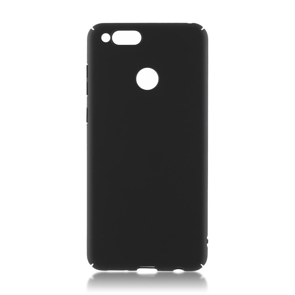 Аксессуар Чехол Brosco для Honor 7X Soft-touch Black HW-H7X-4SIDE-ST-BLACK