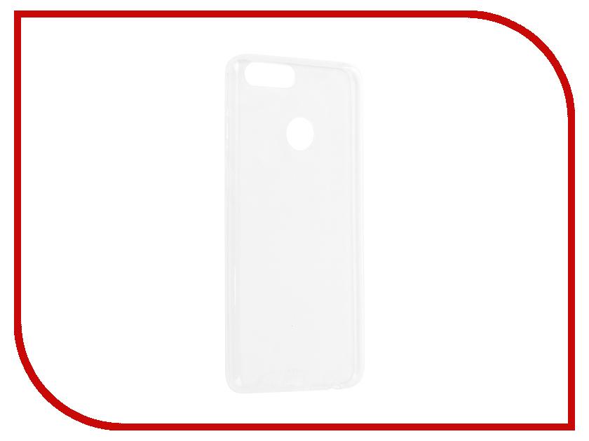 все цены на Аксессуар Чехол для Huawei Honor 7X BROSCO Silicone Transparent HW-H7X-TPU-TRANSPARENT онлайн