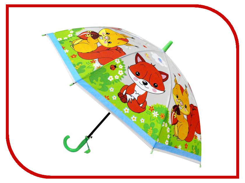 Зонт Играем вместе Лесные животные UM45T-LES зонт играем вместе совушки um45 sov