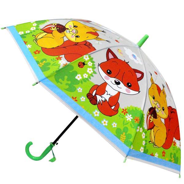 Зонт Играем вместе Лесные животные UM45T-LES зонт играем вместе лисички um45 lis