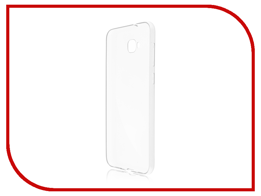 Аксессуар Чехол для ASUS ZenFone 4 Selfie ZD553KL BROSCO Silicone Transparent AS-ZF4S-TPU-TRANSPARENT аксессуар чехол asus zenfone 3 ze552kl skinbox slim silicone transparent t s aze552kl 005