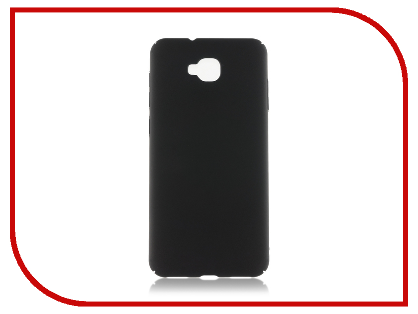 Аксессуар Чехол для ASUS ZenFone 4 Selfie ZD553L BROSCO Black AS-ZF4S-4SIDE-ST-BLACK