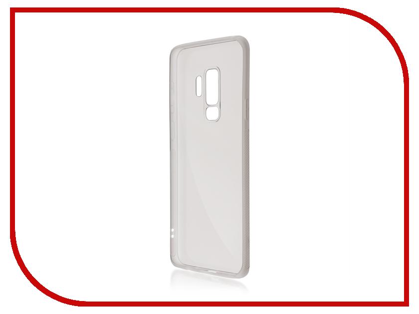Аксессуар Чехол Samsung Galaxy S9 Plus BROSCO Silicone Black SS-S9P-NEWTPU-BLACK аксессуар чехол xiaomi mi6 brosco silicone black xm mi6 tpu black
