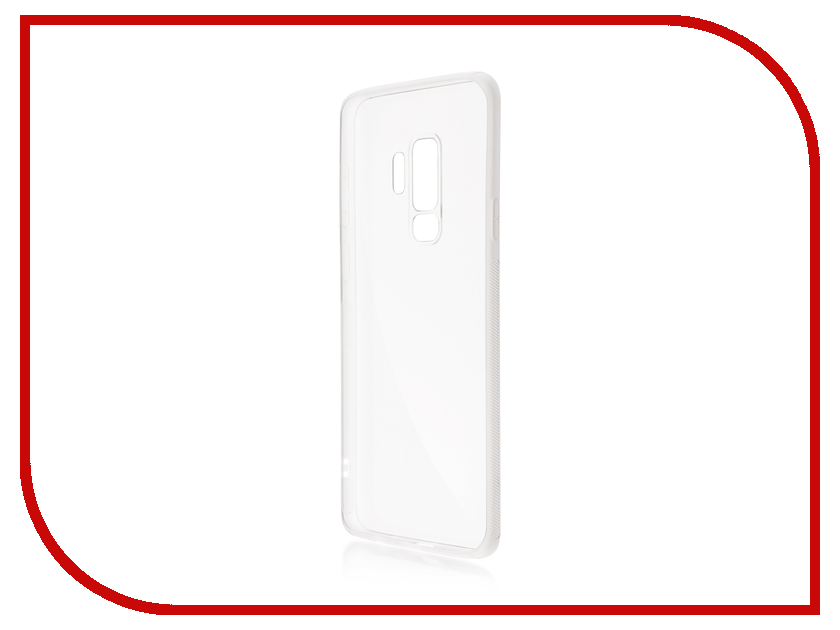 Аксессуар Чехол для Samsung Galaxy S9 Plus BROSCO Silicone Transparent SS-S9P-NEWTPU-TRANSPARENT аксессуар чехол для samsung galaxy s8 plus brosco transparent ss s8p tpu transparent