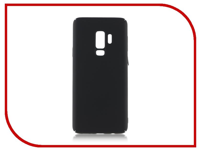 Аксессуар Чехол для Samsung Galaxy S9 Plus BROSCO Black SS-S9P-4SIDE-ST-BLACK аксессуар чехол samsung j3 2017 j330f zibelino clear view black zcv sam j330 blk