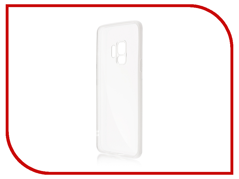 Аксессуар Чехол для Samsung Galaxy S9 BROSCO Silicone Transparent SS-S9-NEWTPU-TRANSPARENT wt 036 transparent acrylic radiator silver transparent 200ml