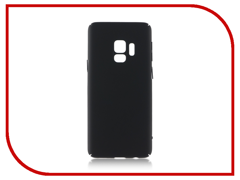 Аксессуар Чехол Samsung Galaxy S9 BROSCO Black SS-S9-4SIDE-ST-BLACK аксессуар чехол samsung galaxy s8 plus brosco black ss s8p 4side st black