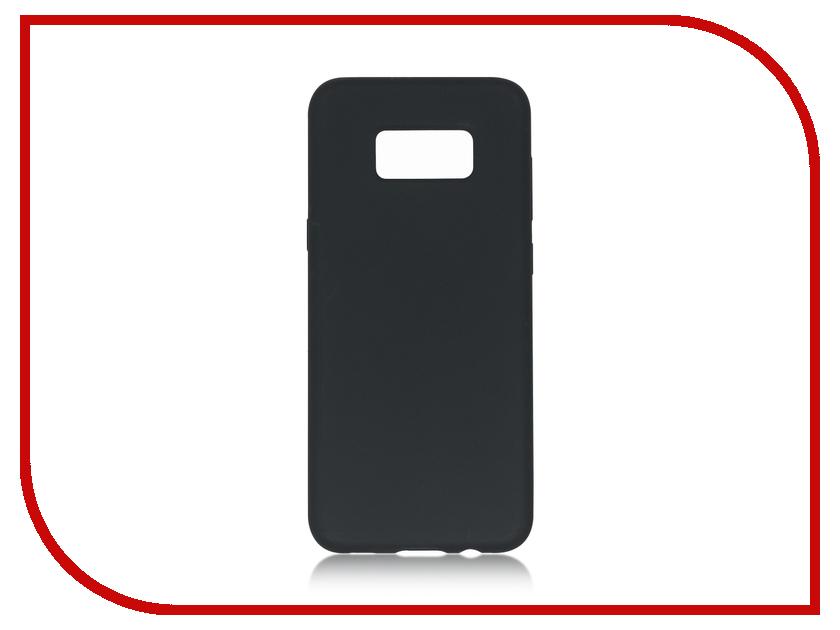 Аксессуар Чехол Samsung Galaxy S8 Plus BROSCO Softrubber Black SS-S8P-SOFTRUBBER-BLACK аксессуар чехол samsung galaxy s8 plus brosco black ss s8p 4side st black