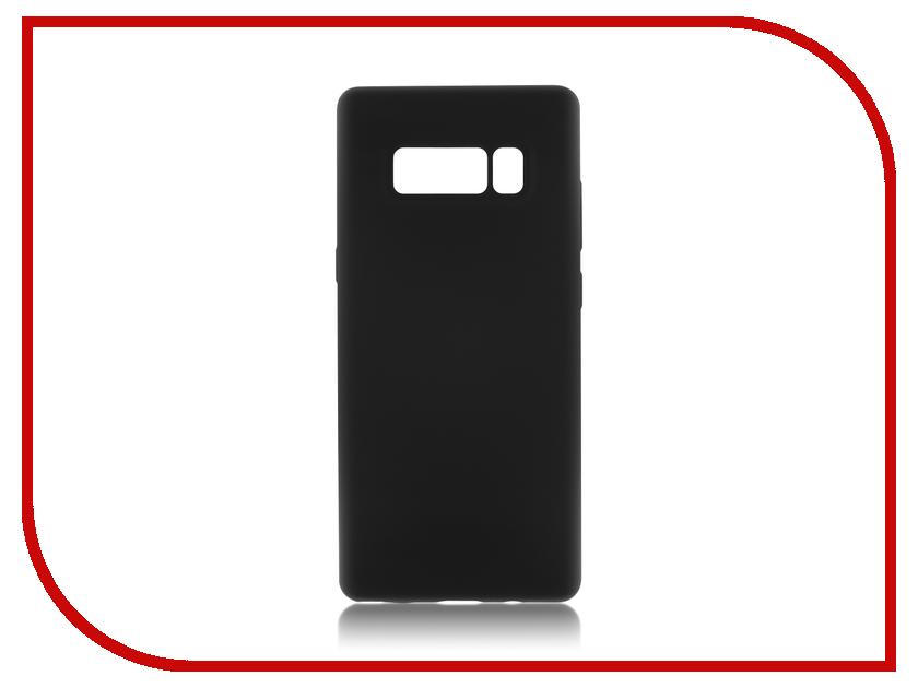 Аксессуар Чехол Samsung Galaxy Note 8 BROSCO Softrubber Black SS-N8-SOFTRUBBER-BLACK аксессуар чехол samsung galaxy s8 plus brosco black ss s8p 4side st black