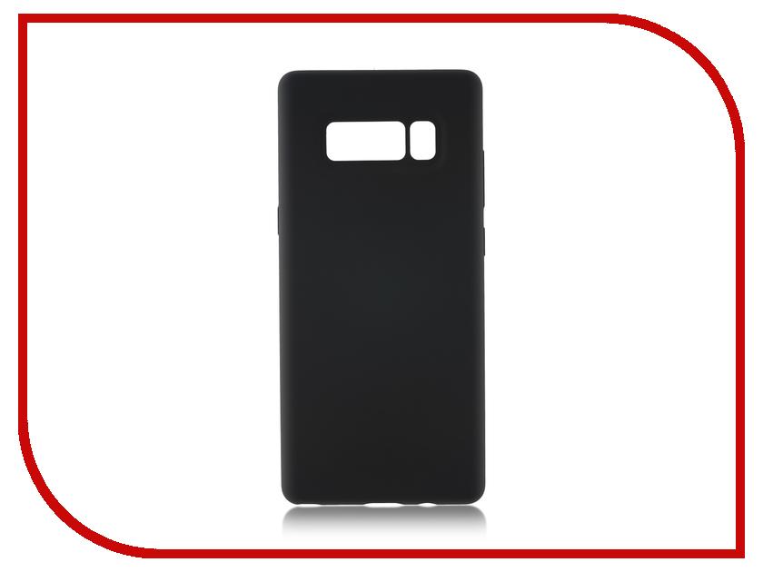 Аксессуар Чехол Samsung Galaxy Note 8 BROSCO Softrubber Grey SS-N8-SOFTRUBBER-GREY brosco grey monopod 01 grey