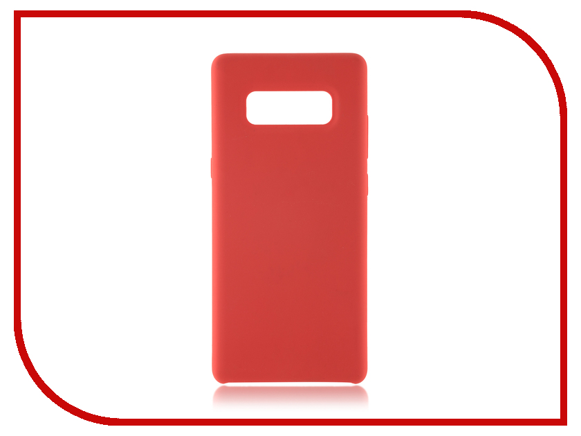 Аксессуар Чехол Samsung Galaxy Note 8 BROSCO Softrubber Red SS-N8-SOFTRUBBER-RED б у nokia n8