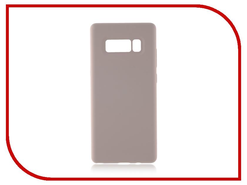 Аксессуар Чехол Samsung Galaxy Note 8 BROSCO Softrubber White SS-N8-SOFTRUBBER-WHITE