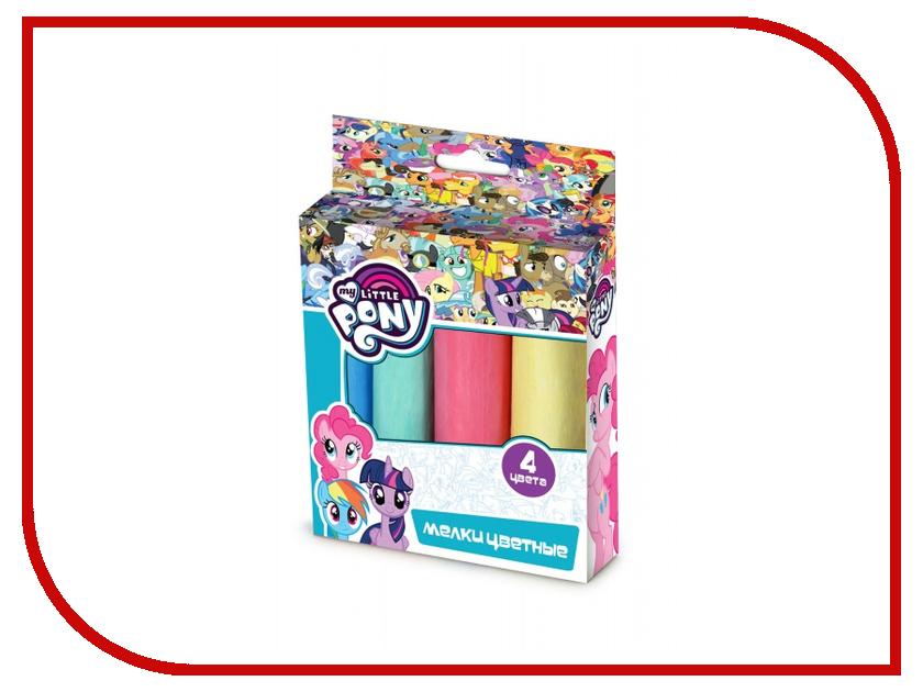 Набор Multiart My Little Pony Мелки 4 цвета 40104-MLP 239228 мозаики multiart набор для творчества объемная мозаика my little pony
