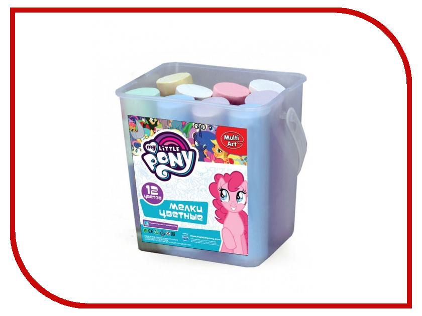 Мелки Multiart My Little Pony 6 цветов 12шт 40212N-MLP 239231