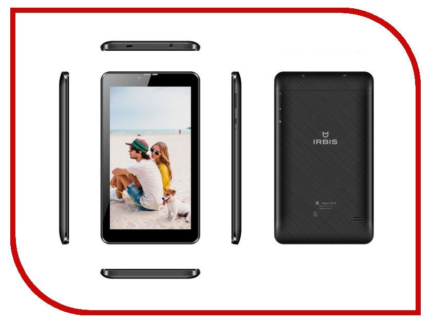 Планшет Irbis TZ771 Black (MTK8735 1.1 GHz/1024Mb/8Gb/Mali-T720/Wi-Fi/Bluetooth/Cam/7.0/1024x600/Android 7.0) планшет планшет lenovo tab 4 tb 7504x za380087ru mediatek mt8735b 1 3 ghz 2048mb 16gb gps 3g lte wi fi bluetooth cam 7 0 1280x720 android