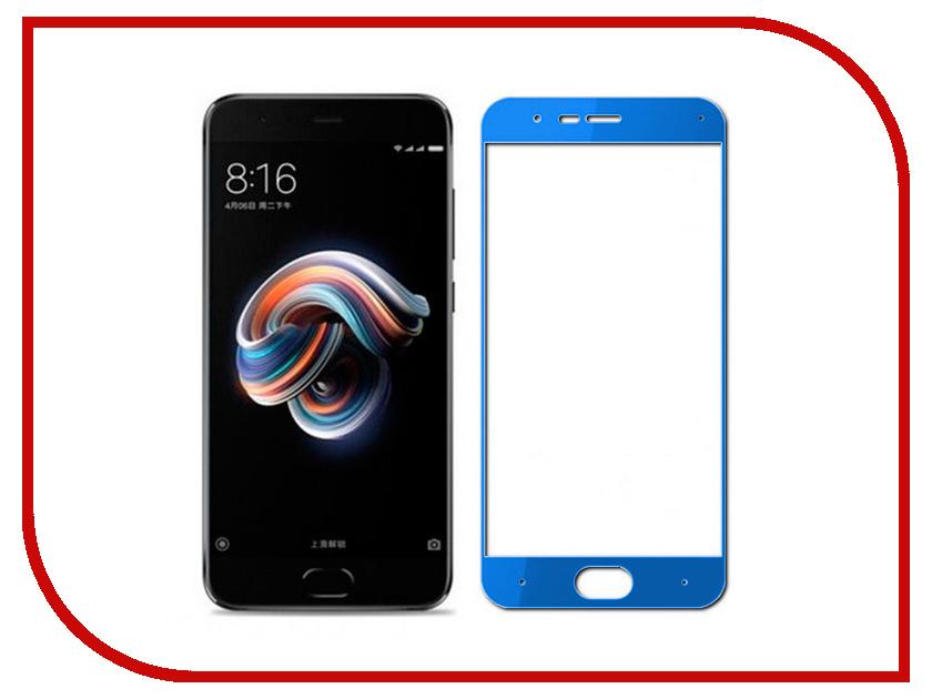 Аксессуар Закаленное стекло для Xiaomi Mi Note 3 DF Full Screen xiColor-25 Blue