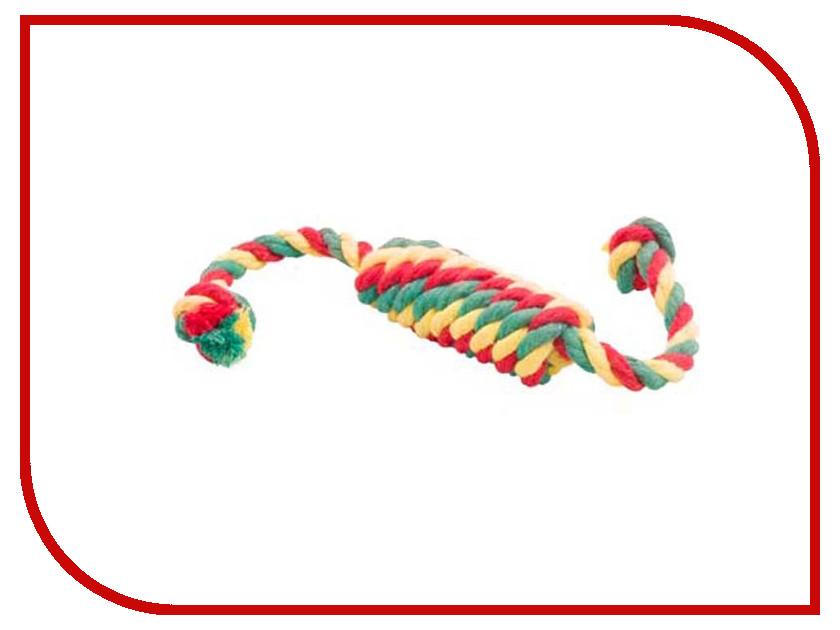 Сарделька канатная Doglike Малая Yellow-Green-Red